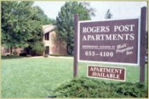 Rogers Post Apartments Baltimore Md