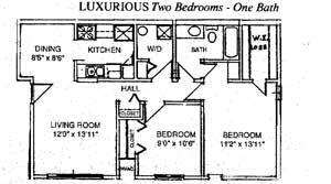 Apartment Floorplans For Greyberry Apartments In Waterford