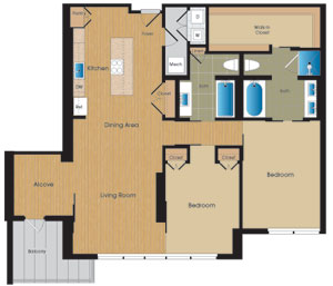28 The Crowded 14 Floor Plan
