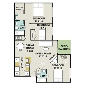 apartment floorplans for charleston landings apartments in