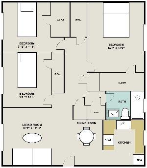 Apartment Floorplans For Fairburn And Gordon Apartments In Atlanta